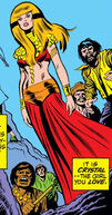 Crystalia Amaquelin (Earth-616) as Ixchel from Fantastic Four Vol 1 118