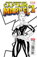 Captain Marvel Vol 7 1 Second Printing Variant