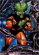 Samuel Sterns (Earth-616) from Marvel Masterpieces Trading Cards 1992 0001