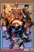 Avengers Invaders Vol 1 6 Textless Coipel Variant