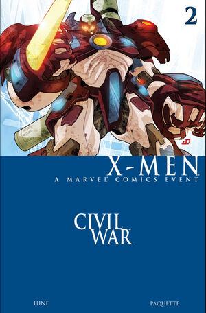 Civil War X-Men Vol 1 2