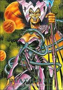 Cal'syee Neramani (Earth-616) from Marvel Masterpieces Trading Cards 1992 Lost Marvel Cards 0001