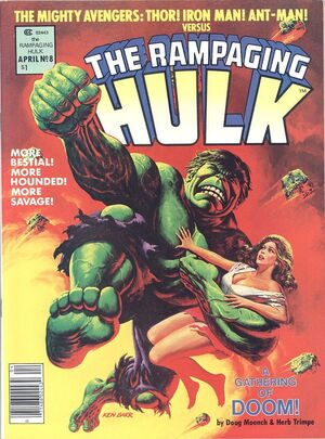 Rampaging Hulk Vol 1 8