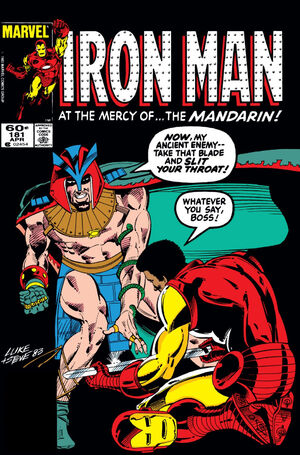 Iron Man Vol 1 181