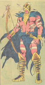 Jesse Black Crow (Earth-616) from Official Handbook of the Marvel Universe Vol 2 2 0001