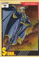 Ororo Munroe (Earth-616) from Marvel Universe Cards Series II 0001
