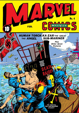 Marvel Mystery Comics Vol 1 4