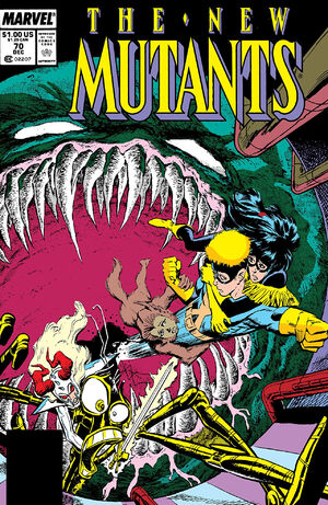 New Mutants Vol 1 70