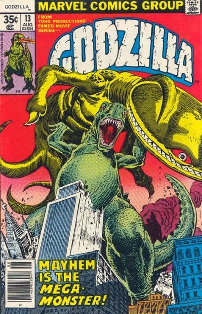 Godzilla Vol 1 13 Marvel Database Fandom Powered By Wikia