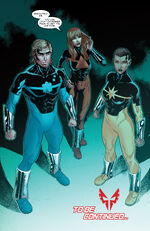 Power Pack (Earth-TRN590) from Spider-Man 2099 Vol 3 14 0001