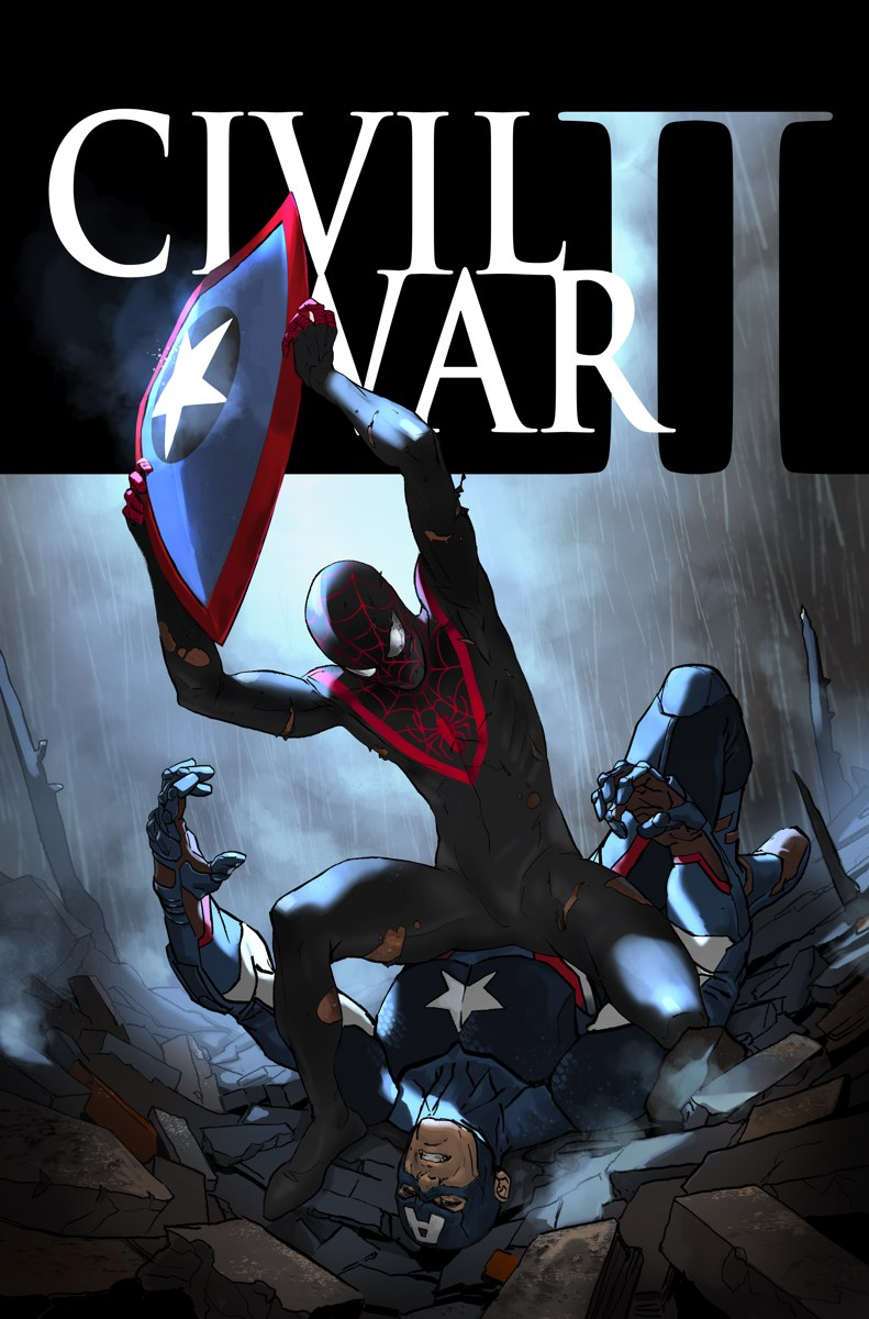 Image result for civil war II #6