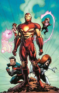 Uncanny Avengers Vol 3 3 Portacio Variant Textless