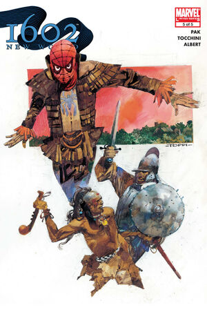 Marvel 1602 New World Vol 1 5