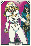 Tandy Bowen and Tyrone Johnson (Earth-616) from Arthur Adams Trading Card Set 0001