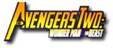 Avengers Two- Wonder Man and Beast (2000) logo
