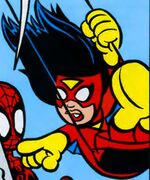 Jessica Drew (Earth-99062) Spider-Man and Power Pack Vol 2 2