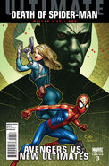 Ultimate Avengers vs. New Ultimates Vol 1 3 Cho Variant