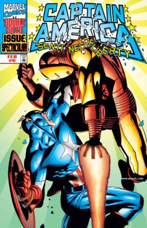 Captain America Sentinel of Liberty Vol 1 6
