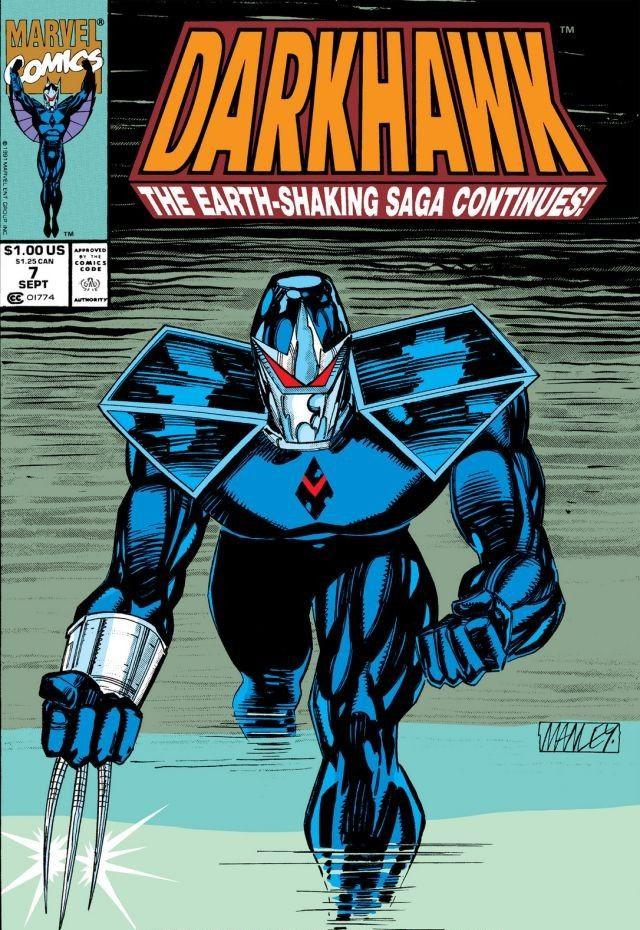 Darkhawk Vol 1 7 Marvel Database Fandom Powered By Wikia