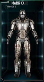 Iron Man Armor MK XXIII (Earth-199999)
