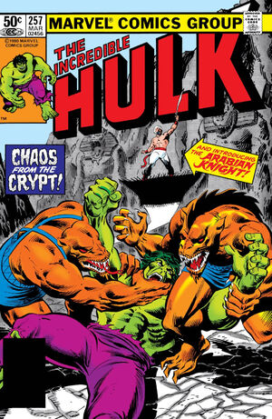 Incredible Hulk Vol 1 257