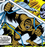 Alpha (Trained Ape) (Earth-616) from Iron Man Vol 1 16 0001