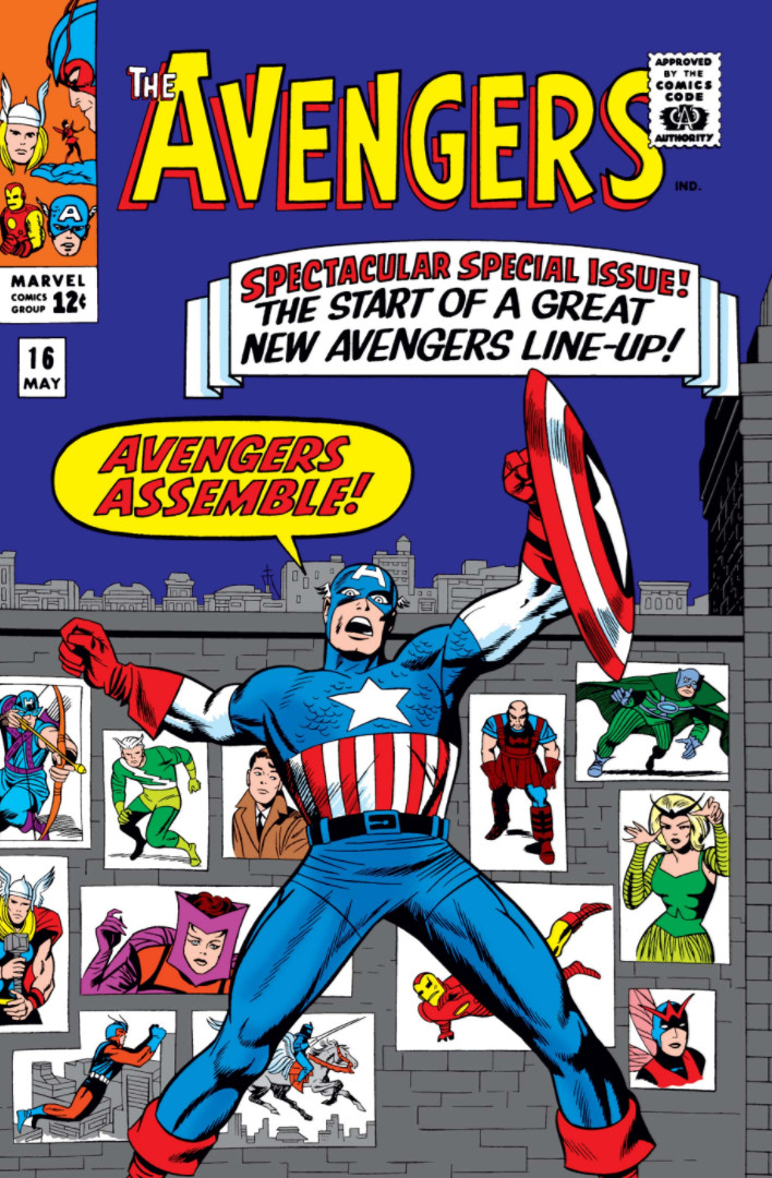 Resultado de imagen para Avengers 16