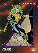 Lorna Dane (Earth-616) from Marvel Universe Cards Series III 0001