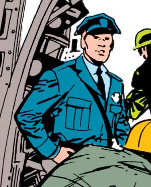 Jim (Security Guard) (Earth-616) from Tales of Suspense Vol 1 43 001