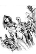Avengers Invaders Vol 1 12 DF Sketch Variant