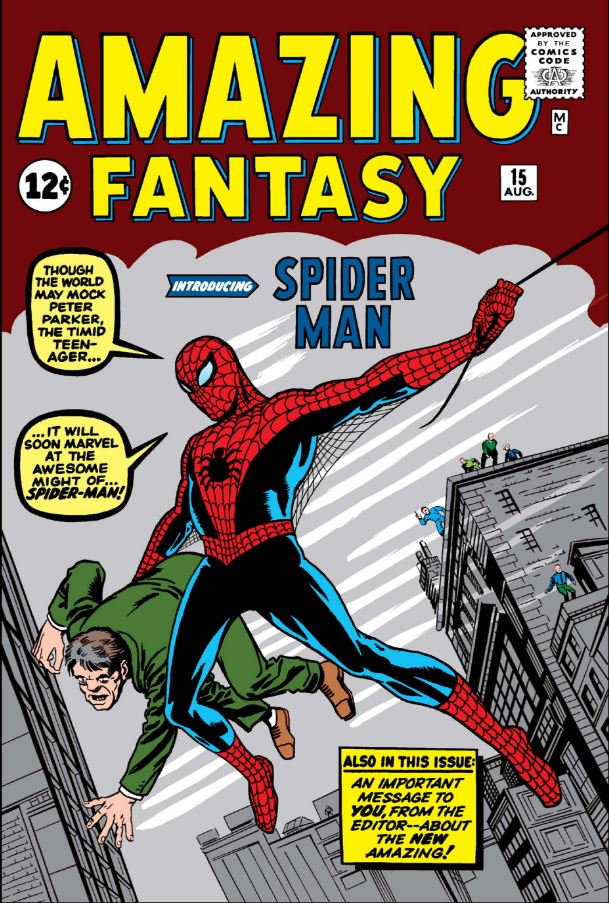 Image result for amazing fantasy 15