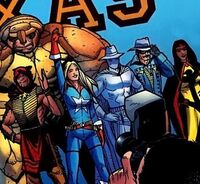 Rangers (Earth-616) from Avengers The Initiative Vol 1 2 001