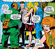 Reed and Sue name Franklin from Fantastic Four Vol 1 94