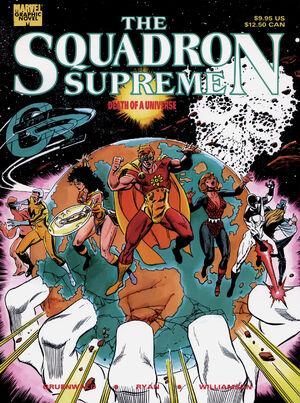 Squadron Supreme Death of a Universe Vol 1 1