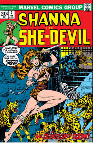 Shanna, The She-Devil Vol 1 2