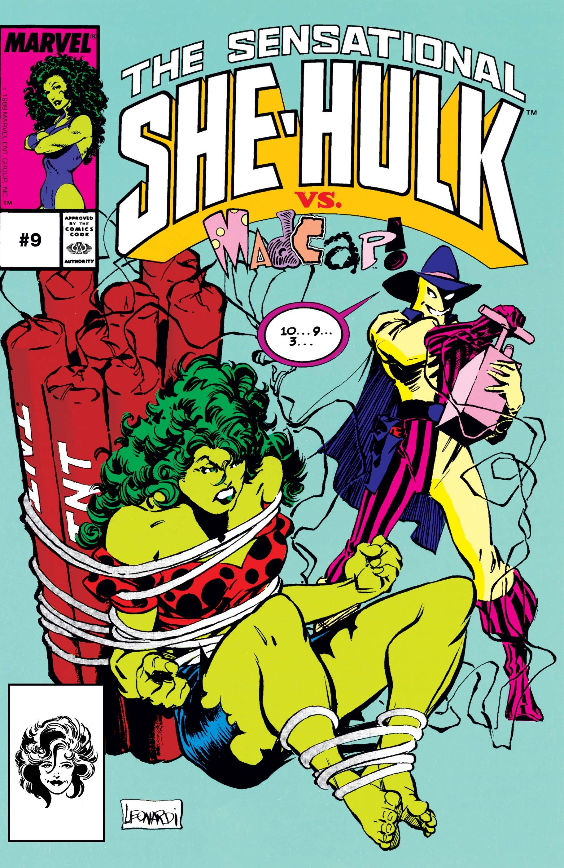 Sensational She-Hulk Vol 1 9