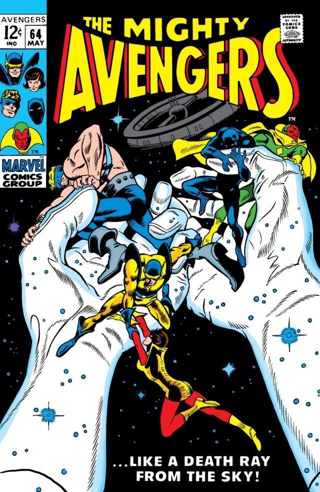 Image result for avengers #64