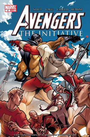 Avengers The Initiative Vol 1 8