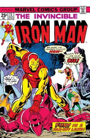 Iron Man Vol 1 73