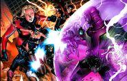 Young Avengers (Earth-616) vs Nathaniel Richards (Kang) (Earth-6311)