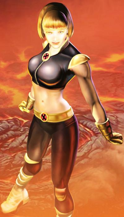 X Men Legends Magma Alison Crestmere (Eart...