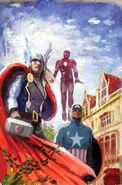 Avengers Assemble Vol 2 2 Avengers Variant Textless