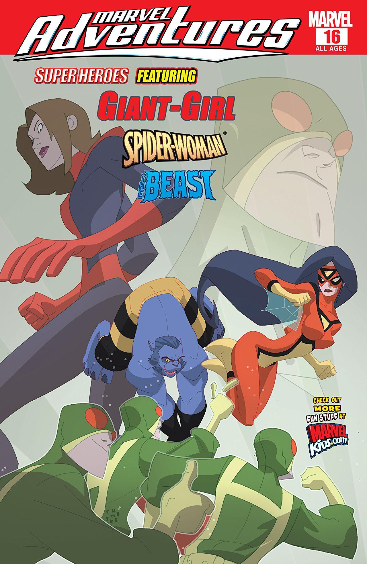 marvel super heroes adventure pdf