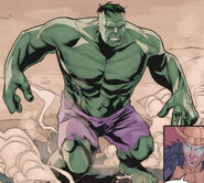 Bruce Banner (Earth-616) from Avengers The Origin Vol 1 1 0001