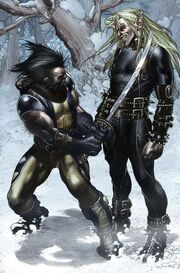 Wolverine Vol 3 55 page - James Howlett & Kyle Gibney (Earth-616)