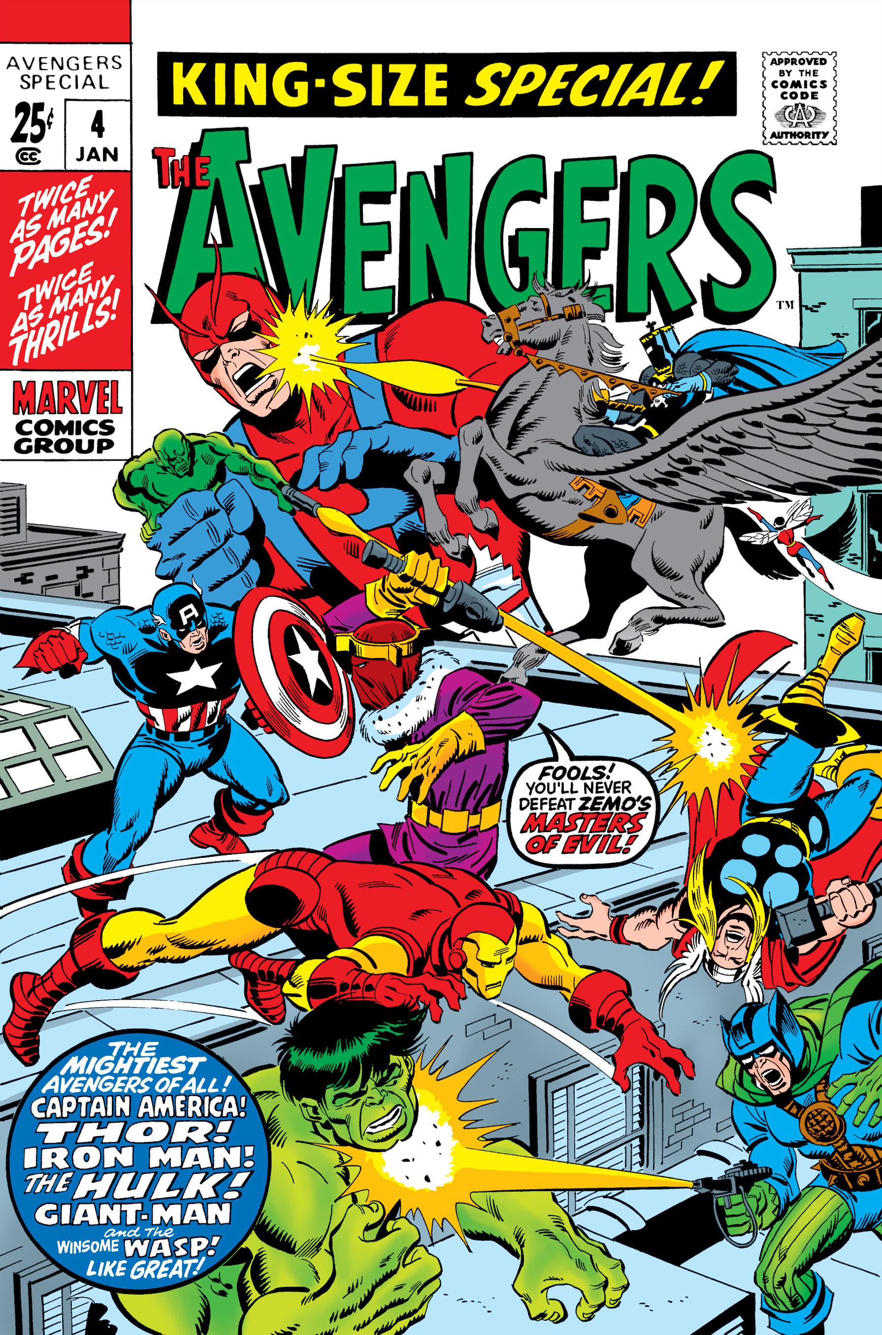 Avengers Annual Vol 1 Marvel Database Fandom Powered border=