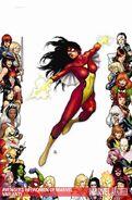 Avengers Vol 4 4 Textless Women of Marvel Variant