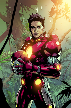 Nathaniel Richards (Iron Lad) (Earth-6311) from Avengers Vol 5 34 0001