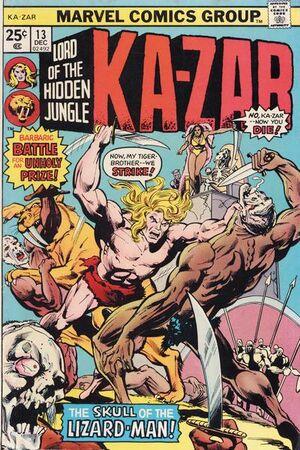Ka-Zar Vol 2 13