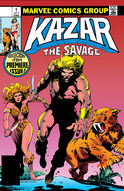 Ka-Zar the Savage Vol 1 1